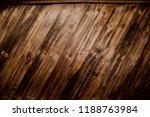 old wood reclaimed plank... | Shutterstock . vector #1188763984