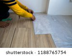 installation of laminate... | Shutterstock . vector #1188765754
