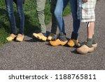 Dutch People Walking On Clogs...