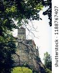 bran  transylvania region ... | Shutterstock . vector #1188767407