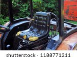 damaged old tractor seat for... | Shutterstock . vector #1188771211