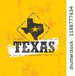 texas wild west rough vector... | Shutterstock .eps vector #1188777634