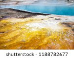 black pool at the west thumb...   Shutterstock . vector #1188782677