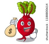 with money bag cartoon fresh... | Shutterstock .eps vector #1188800614