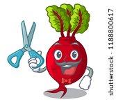 barber cartoon fresh harvested... | Shutterstock .eps vector #1188800617