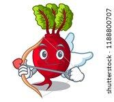 cupid cartoon fresh harvested... | Shutterstock .eps vector #1188800707