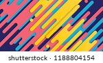minimal abstract colorful... | Shutterstock .eps vector #1188804154