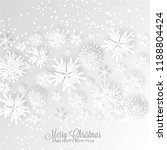 christmas party invitation... | Shutterstock .eps vector #1188804424