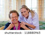 A Home Care Nurse Visits A...