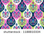indian style ornament  with... | Shutterstock .eps vector #1188810334