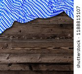 oktoberfest background  with... | Shutterstock . vector #1188815107