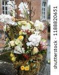 autdoor autumn floral decoration | Shutterstock . vector #1188820651