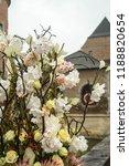autdoor autumn floral decoration | Shutterstock . vector #1188820654