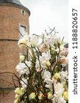 autdoor autumn floral decoration | Shutterstock . vector #1188820657