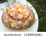autdoor autumn floral decoration | Shutterstock . vector #1188820681