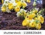 autdoor autumn floral decoration | Shutterstock . vector #1188820684