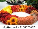 autdoor autumn floral decoration | Shutterstock . vector #1188820687