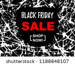 black friday sale abstract...   Shutterstock .eps vector #1188848107