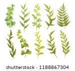 decorative vector clipart.... | Shutterstock .eps vector #1188867304