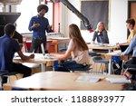 class of high school students... | Shutterstock . vector #1188893977