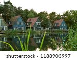 beautiful scene of houses by... | Shutterstock . vector #1188903997