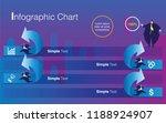 infographics of steps elements... | Shutterstock .eps vector #1188924907