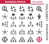 business people icons.... | Shutterstock .eps vector #1188927031
