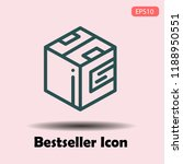 modern bag outline icon use for ...