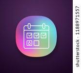menstrual calendar app icon....