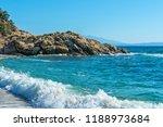 panoramic view of aegean sea at ...   Shutterstock . vector #1188973684
