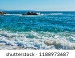 panoramic view of aegean sea at ...   Shutterstock . vector #1188973687