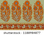 seamless traditional indian... | Shutterstock . vector #1188984877