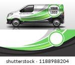 van wrap design. wrap  sticker...   Shutterstock .eps vector #1188988204
