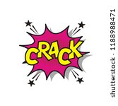 crack bubble speech explosion | Shutterstock .eps vector #1188988471
