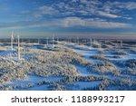 swedish wind farm | Shutterstock . vector #1188993217