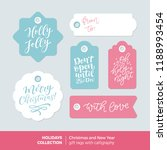 vector set of printable... | Shutterstock .eps vector #1188993454