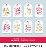 vector set of printable... | Shutterstock .eps vector #1188993481