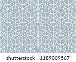 the geometric pattern with... | Shutterstock .eps vector #1189009567