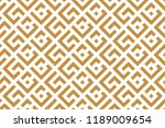 abstract geometric pattern. a... | Shutterstock .eps vector #1189009654