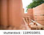 rough construction of the two... | Shutterstock . vector #1189010851