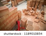 rough construction of the two... | Shutterstock . vector #1189010854