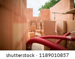 rough construction of the two... | Shutterstock . vector #1189010857