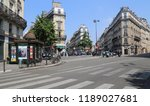 paris  france   may 16  2018 ... | Shutterstock . vector #1189027681