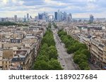 paris  france   may 13  2018 ... | Shutterstock . vector #1189027684