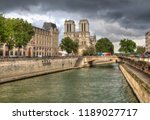 paris  france   may 12  2018 ... | Shutterstock . vector #1189027717