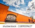 tepotzotlan old city streets... | Shutterstock . vector #1189039627