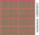 prince of wales style glen... | Shutterstock .eps vector #1189043017