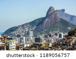 landscape of the cantagalo...   Shutterstock . vector #1189056757