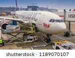 london heathrow airport   june... | Shutterstock . vector #1189070107