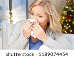 health  holidays and people... | Shutterstock . vector #1189074454